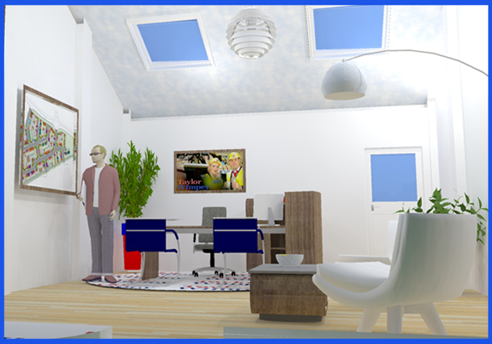 new site office layout
