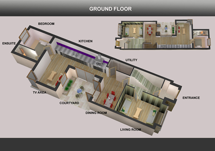 ground floor proposed layout